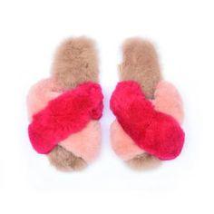 Ariana Bohling - Alpaca Slippers and Fine Peruvian Footwear – ArianaBohling Alpaca Slippers, Fuzzy Slides, Jelly Bag, Cute Comfy Outfits, Slipper Socks, Baby Alpaca, Womens Slippers, Blush Pink, Handmade
