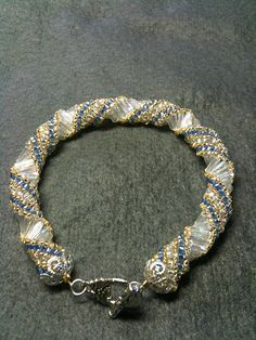 Adventures of a Beadaholic: Bugle Bracelet...note to LD, pattern is from Bead and Button Oct. 2011