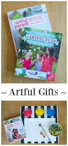 Artful Gifts - Ideas combining books with arts and crafts supplies