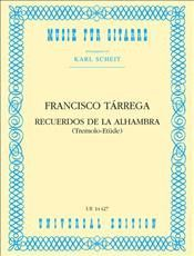 Recuerdos De La Alhambra (Full Score - Study)