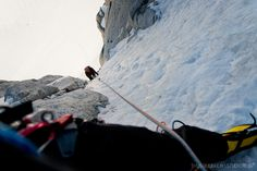 #pitch4 in #ChereCouloir #chamonix #montblanc #mountains #alpine #climbing #nikon #d600 #24-85mm #peakdesign #capturepro
