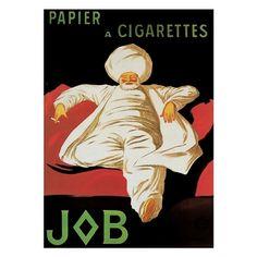 ''Papier a Cigarettes - Job 1912'' by Leonetto Cappiello Huntington Graphics Art Print