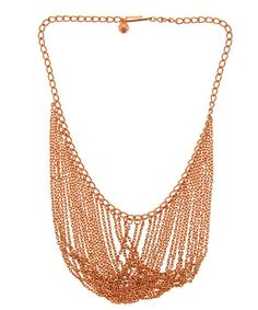 Max & Chloe Andrea Valentini Rosetone Draped Necklace
