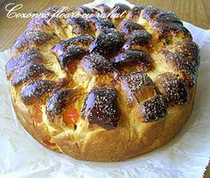 Arome si culori : Cozonac floare cu rahat Bread, Food, Sweets, Kuchen, Breads, Bakeries, Meals
