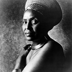 """""""Miriam Makeba (4 March 1932 – 9 November 2008), nicknamed Mama Africa, was a Grammy Award-winning South African singer and civil rights activist.  In the 1960s, she was the first artist from Africa to popularize African music around the world. She is best known for the song """"Pata Pata"""", first recorded in 1957 and released in the U.S. in 1967. She recorded and toured with many popular artists, such as Harry Belafonte, Paul Simon, and her former husband Hugh Masekela."""" Wikipedia"""