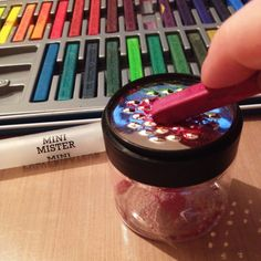 Make your own spray inks with Inktense blocks