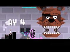 Geometry dash replay: 5 Nights at Freddy's