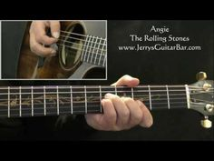 Angie Guitar Lesson - part 1 of 4 - YouTube