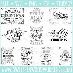 Download all 40 files including SVG, Studio, PNG, and PDF files too. These files were edited by www.sweetpeawoodworking.com using designs received from www.freepik.com. Sweet Pea Woodworking does not claim ownership of these designs, but is simply providing the edited versions of these files for you to use according to the guidelines of the original owner's…