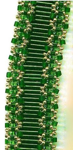 Beaded Bugle Bracelet PATTERN