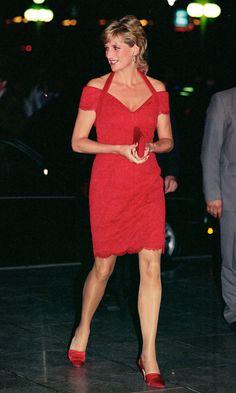 Fabulous Red!   Princess Diana's Birthday!