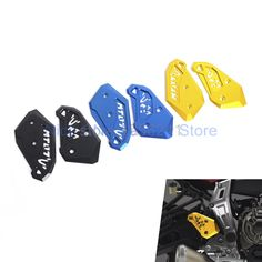 CNC Rearset Foot Peg Mount Heel Plates Guard Protector For Yamaha MT 07 FZ 07 2014 2015 MT07 FZ07 14 15 NEW-in Covers & Ornamental Mouldings from Automobiles & Motorcycles on Aliexpress.com   Alibaba Group