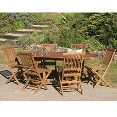Salon de jardin Alu 6 places Royal Grey Cassis BRECIA Ronde ...