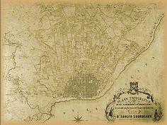 Plano de Buenos Aires 1850