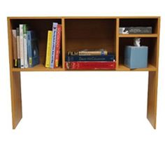 Shop at DormCo for The College Cube - Dorm Desk Bookshelf - Beech (Natural Wood). This dorm necessities item features a Beech color for high impact dorm room decor and has divided shelves so you can keep college textbooks, notebooks, and more organized. Dorm Shelves, Bookshelf Desk, Bookshelves, Shelving, Desk Hutch, College Dorm Storage, Dorm Room Organization, College Dorm Rooms, Organizing