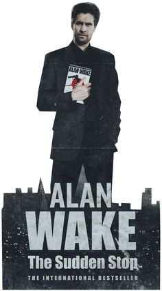 Alan Wake Paper Cutout