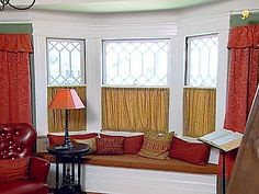 Bay Window Window Treatments | There Are 3 Windows So The Same Number Of  Window | For The Home | Pinterest | Bay Window Treatments, Window And Bay  Windows