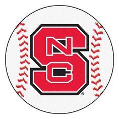 "North Carolina State Wolfpack Ncaa ""baseball"" Round Floor Mat (29"")"