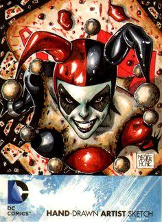 Harley Quinn by MelikeAcar - Geek Art. Follow back if similar.- #comics #art