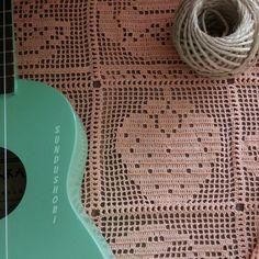 Crochet Round, Crochet Squares, Diy Crochet, Crochet Stitches, Crochet Baby, Crochet Designs, Crochet Patterns, Beaded Hat Bands, Fillet Crochet