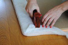 *WHITE GLAM*: Como fazer uma cabeceira de cama ** How to make a headboard