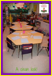 Class arrangement for trapezoid tables classroom layout, grade classroom, classroom design, classroom Classroom Desk, Classroom Layout, 4th Grade Classroom, Classroom Setting, Preschool Classroom, Classroom Organization, Classroom Themes, Classroom Table Arrangement, Desk Arrangements