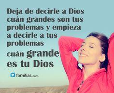 Tu Dios es más grande que tus problemas