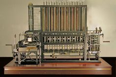 Babbage Difference Engine No. 2, built faithfully to the original drawings, consists of 8,000 parts, weighs five tons, and measures 11 feet long.