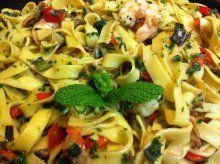 Receta del día: tallarines con verduras y langostinos | Cocinar en casa es facilisimo.com