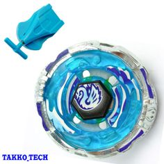 Metal Beyblade Fusion Fight Masters Blue Auto Retract Single String Launcher Toy | eBay