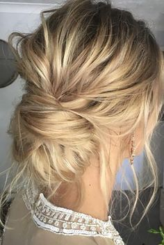 wedding guess hairstyles elegant low bun