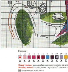 Схема вышивки Парижанка (Овен) 3 из 4
