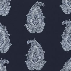 Robbins Hill Paisley – Batik - Maritime Outdoor - Fabric - Products - Ralph Lauren Home - RalphLaurenHome.com