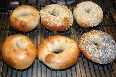 "Mike Avery's Sourdough Bagel recipe as written in his book ""Back to Bagels"" Sourdough Bagels, Sourdough Recipes, Bread Recipes, The Fresh Loaf, Bagel Recipe, Baked Goods, Favorite Recipes, Baking, Eat"