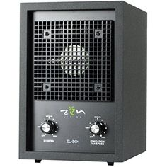 Zen Living ZL3C Ionic Air Purifier For Smokers With Oversized Carbon Filter Dual Plate Ozone Generator  Ionizer * Check out the image by visiting the link.