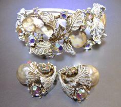 Baroque Dragon Tooth HAR Bracelet & Earrings by RenaissanceFair