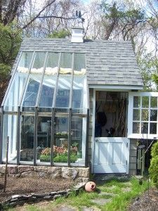 Garden shed/greenhouse! <3