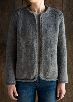 Classic Knit Jacket   Purl Soho