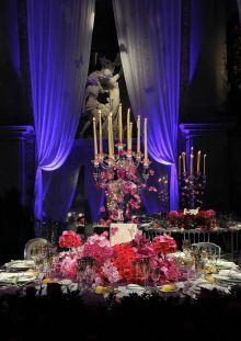 Table Decoration at Il Ballo del Doge in Venice  Photo copyrighted to Il Ballo del Doge