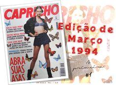 REVISTA CAPRICHO MARÇO 1994