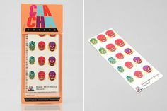 How festive are these smiling sugar skull nail wraps?