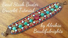 Bead Stash Buster Bracelet Tutorial