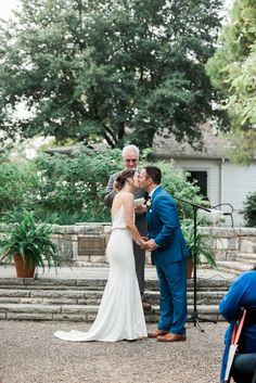 Real Weddings: Meet Christina |  Finery: Carol Hannah Versailles Trumpet Skirt and Verbena Cami (similar to shown) | Floral Design: Disch Events | Invitations: Christina Mirando | Image: Brittany Jean Photography