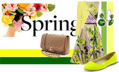 """Colours of Spring"" by arletty on Polyvore"