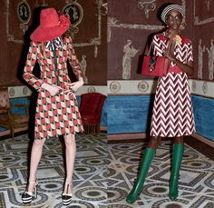 Gucci 2016 Pre Fall Autumn Womens Lookbook Presentation - 1970s Butterflies Snakes Tigers Kittens Trees Moons Stars Furry Patchwork Plaid Flowers Floral Foliage Nerd Geek Grandma Chic Glasses Pussycat Bow Ribbon Embroidery Blouse Pop Art Crochet Knit Sweater Accordion Pleats Skirt Geometric Flare Bomber Jacket Metallic Lace Bedazzled Sheer Shirtdress Gown Eveningwear Maxi Dress Ruffles Cardigan Cape