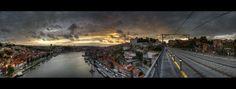 Ponte de Luís I, Porto ~ Sunset Panorama | Flickr - Photo Sharing!