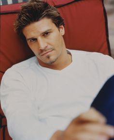 David Boreanaz. The sad thing is, is that he's as old as my dad :/