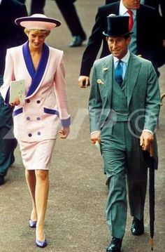 Charles and Diana June 1990