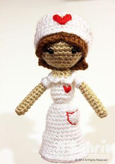 Buy Judith the nurse amigurumi pattern - Amigurumipatterns.net