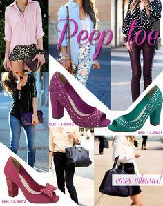 Peep toe #viamarte Inverno 2013 | #trend #winter2013 #peeptoe #shoes